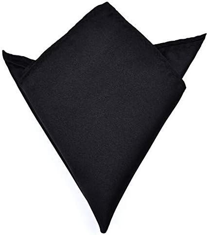XMRB 男性白いハンカチスーツのポケットタオルアクセサリーウェディングパーティ周年記念コマーシャルブラックレッドブルー (色 : X01)