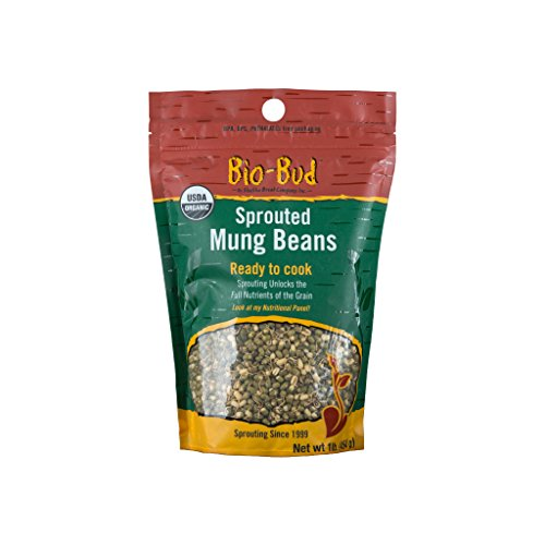 ShaSha Organic Gluten Free Sprouted Mung Beans Bio Buds, 16 Ounce by Alfred Sung