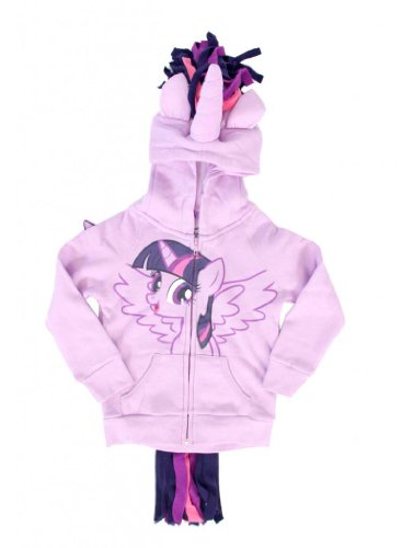 My Little Pony Twilight Sparkle Girls Costume Hoodie (Girls 12) -