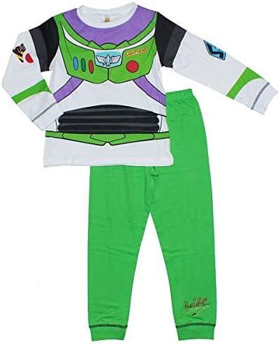 Niño Toy Story Buzz Lightyear Disfraz Pijama brilla en la ...
