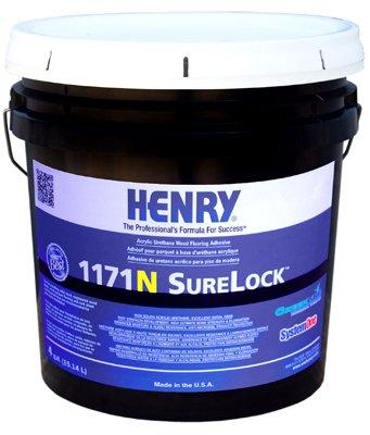 Henry Ww Company 12236 Urethane Floor Adhesive 4 Gallon Power