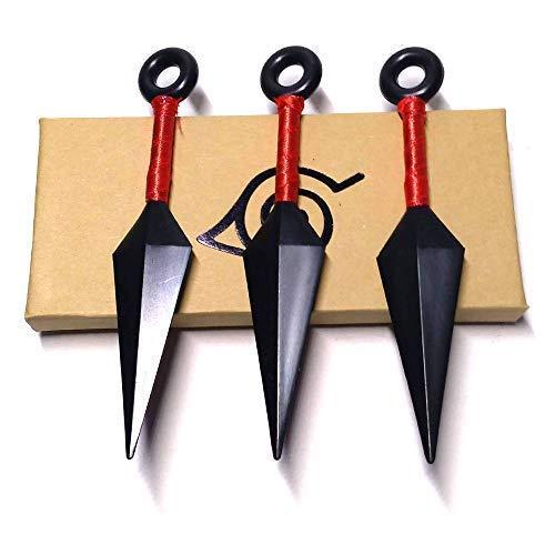 Avias Knife Supply Ninja 3 Piece Plastic Kunai Throwing Knife Toy -