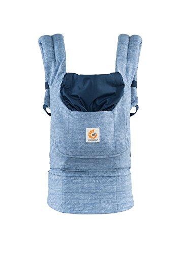 Cheap Ergobaby Original Award Winning Ergonomic Multi-Position Baby Carrier with X-Large Storage Pocket, Vintage Blue