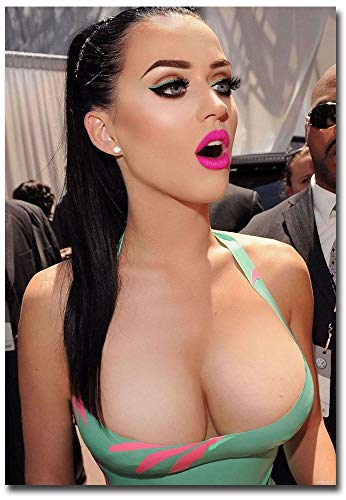 Sexy Katy Perry Hot Boobs Refrigerator Magnet Size 2.5