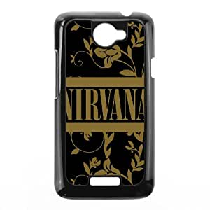 Nirvana Band For HTC One X Custom Cell Phone Case Cover 96II657269