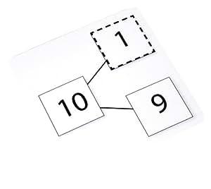 Esenciales de Aprendizaje productos ELP 402638 Tarjetas Number-Bond