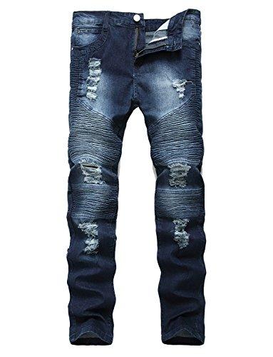 Denim Hipster Jeans - 7