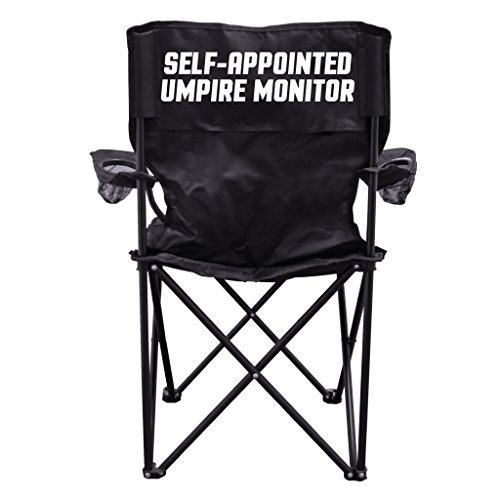VictoryStore Outdoor Camping Chair - Self-Appointed Umpire Monitor Sports Camping Chair with Carry Bag ()