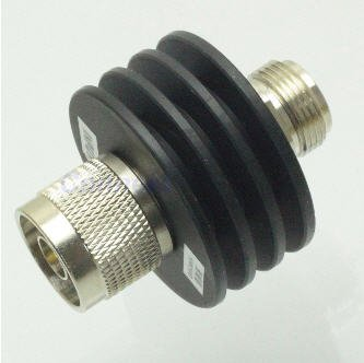 10W N 20dB Attenuator Plug male to Jack female 10 Watt DC 3Ghz