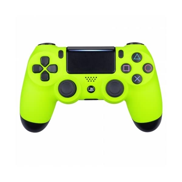 Neon Yellow Playstation 4 PS4 Dual Shock 4 Wireless Custom Controller 1