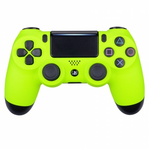 Neon Yellow Playstation 4 PS4 Dual Shock 4 Wireless Custom Controller