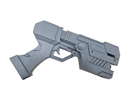 AestheticCosplay Zero Suit Samus Paralyser Gun Prop | 3D Printed Samus Replica Prop | Samus Aran ()