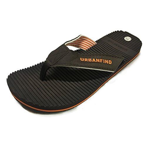Flops Sandals Flip Classic Brown Summer URBANFIND Weight Style2 Shower Men's Light Acupressure q7f8t
