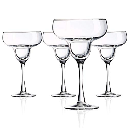 Luminarc N7341 Cachet 14.5 Ounce Margarita Glass, Set of 4, Clear (4 Piece Margarita)