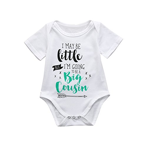 WOCACHI Toddler Baby Girls Clothes, Newborn Toddler Infant Baby Boys Girls Letter Print Romper Jumpsuit Outfits Infant Bodysuits Rompers Clothing Sets Christening Short Long Sleeve Organic Cotton