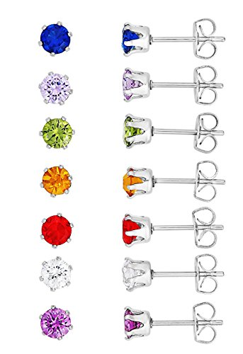 Regetta Jewelry Stainless Sparkling Assorted