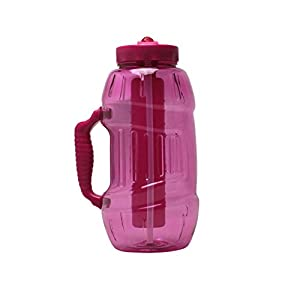 Cool Gear EZ Freeze 64 Ounce Chugger Water Bottle , Pink