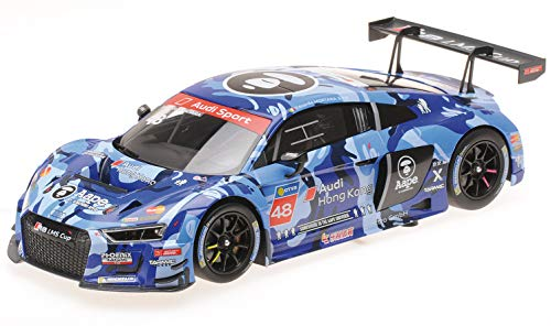 Audi R8 LMS #48 Edoardo Mortara Winner Audi R8 LMS Cup 2016 Sepang Race 2 Limited Edition to 300 Pieces 1/18 Diecast Model Car by Minichamps 155161148