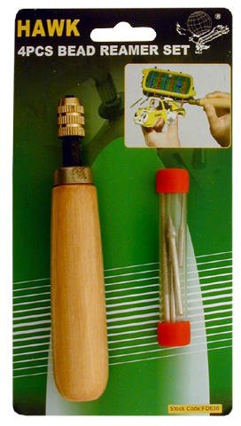 CRAFTCY Bead Reamer/sanding 5-piece Hand Tool Set: F-50630 BearTools