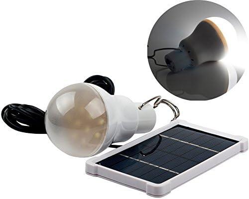 Portátil Bombilla LED Solar del impuesto: 120LM Lámpara de iluminación exterior campo de pesca de la tienda de la lámpara … (150LM): Amazon.es: Bricolaje y herramientas