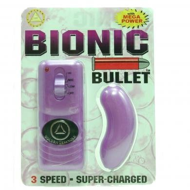 Bionic Bullet Curved Lavender ( 3 Pack ) by superkrit