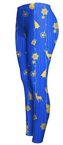 Belsen - Legging - Femme Bleu bleu X-Large
