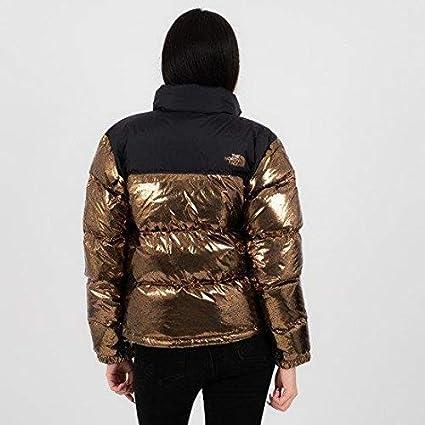 The North Face Damen Daunenjacke gold L: : Bekleidung