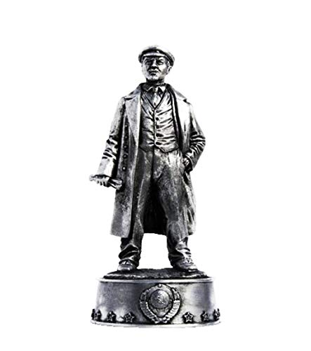 Military-historical miniatures V. I. Lenin (Ulyanov) Tin Metal 54mm Action Figures Toy Soldiers Size 1/32 Scale for Home Décor Accents Collectible Figurines Item #S09