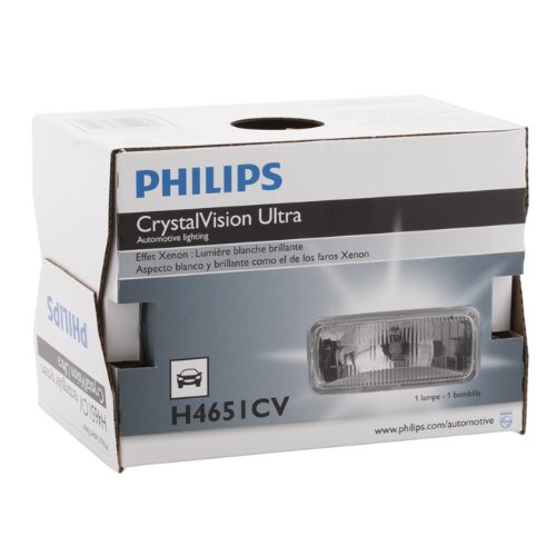 (Philips H4651CVC1 Crystal Vision Sealed Beam)