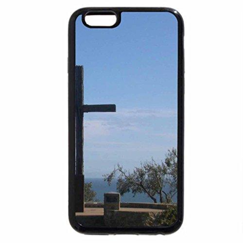 iPhone 6S / iPhone 6 Case (Black) Happy Easter Serra Cross
