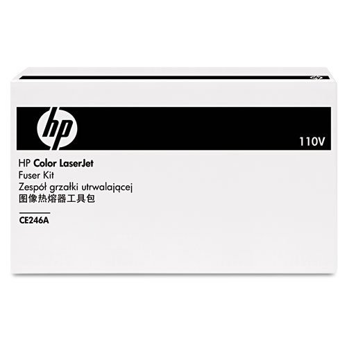 HP Color LaserJet CE246A Fuser Kit 110v in Retail Packaging (Renewed)