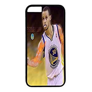 iPhone 6 plus case,fashion durable Black side design for iPhone 6 plus,PC material cover ,Designed Specially Pattern with Stephen Curry . by runtopwell