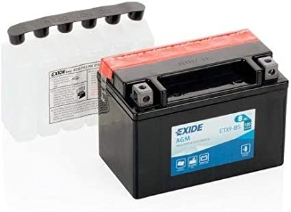 EXIDE ETX9-BS - Batería de Gel AGM
