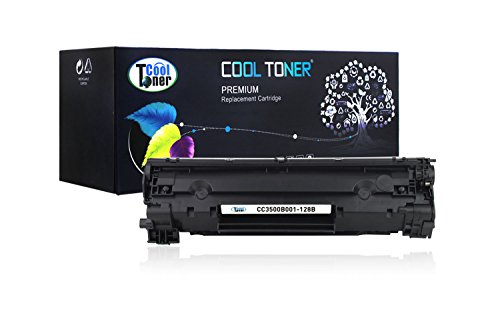 Cool Toner 1 Pack 2,100 Pages Compatible Toner Cartridge Replacement for Canon 128 Cartridge 128 126 3500B001AA Used For Canon LBP6200 6230d, imageClass MF4550 MF4570 D520 D530 D550