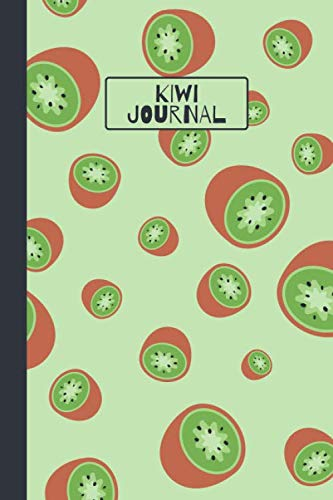 Kiwi Journal: Cute Lined Notebook ()