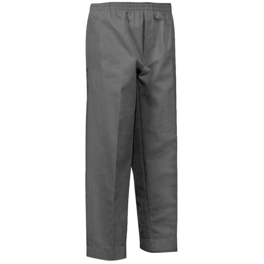 a96328ccb2f7b2 Amazon.com: Mens Full Elastic Waist Pull-On Pants with Mock Fly (XL,  Black): Health & Personal Care