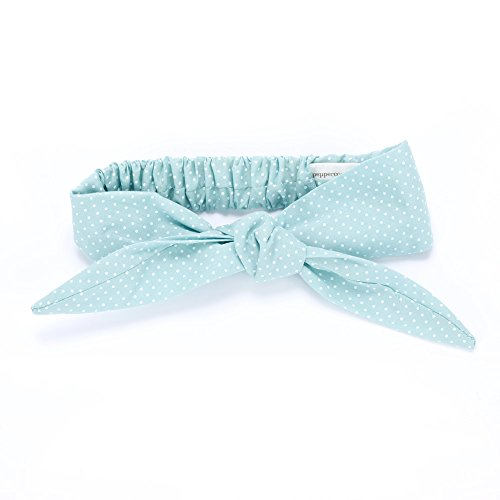 Peppercorn Kids Bow Tie-Up Headwrap - Sprinkles - Mint Green