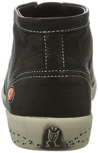 Softinos Damen Indira Smooth Chukka Boots Schwarz (Black)