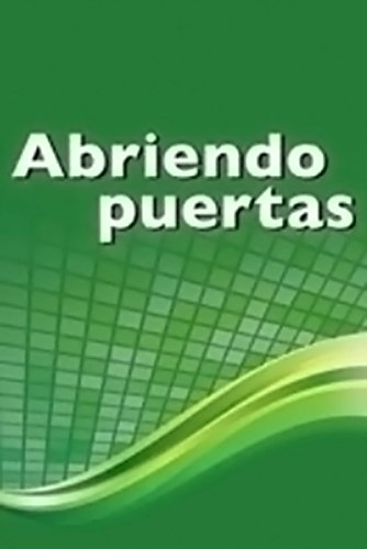 Abriendo puertas: ampliando pespectivas: Teacher's Resource Manual Grades 6-12