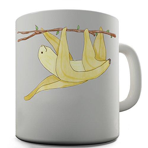 - Banana Sloth Cute Design Novelty Gift Tea Coffee Office Mug