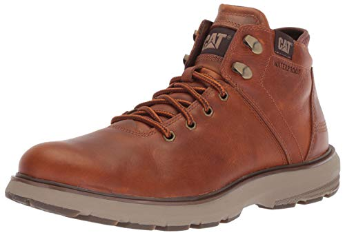 - Caterpillar Men's Factor WP TX Ankle Boot, Brown, 12.0 M US