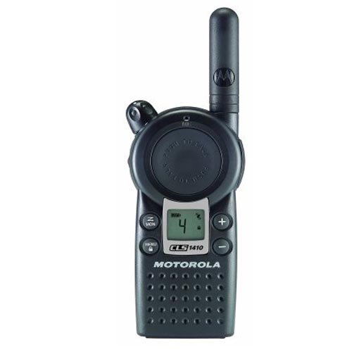 Motorola Professional CLS1410 5-Mile 4-Channel UHF Two-Way Radio Two Count
