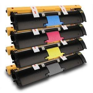 - 4PK Caire(TM) Premium Compatible konica Minolta magicolor 2400W/2430DL/2450/2500 Color Laser Printer Toner Cartridge Set of 4 Packs(KM 2400: MCYK)