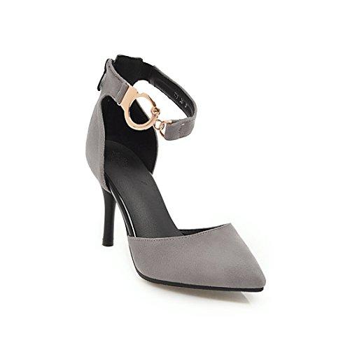 sexy sandali gray 39 tacchi le vogue donne IXqBW5w
