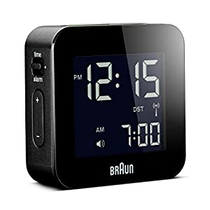 BRAUN BNC008BK-RC - Reloj Despertador Digital Negro 2