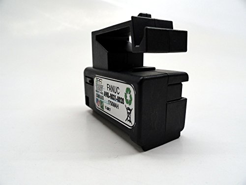 2PC Fanuc A98L-0031-0028, A02B-0323-K102 Single Cell 3V in Cartridge Battery Replacement by TOP BATTERY SOLUTIONS (Image #1)