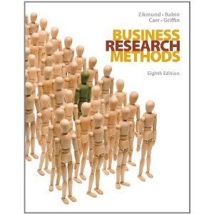 Business Research Methods 8th (Eighth) Edition BYZikmund