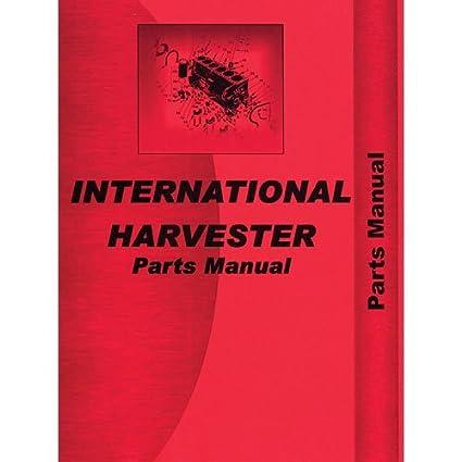 International 966 1066 100 hydrostatic transmission tractor.