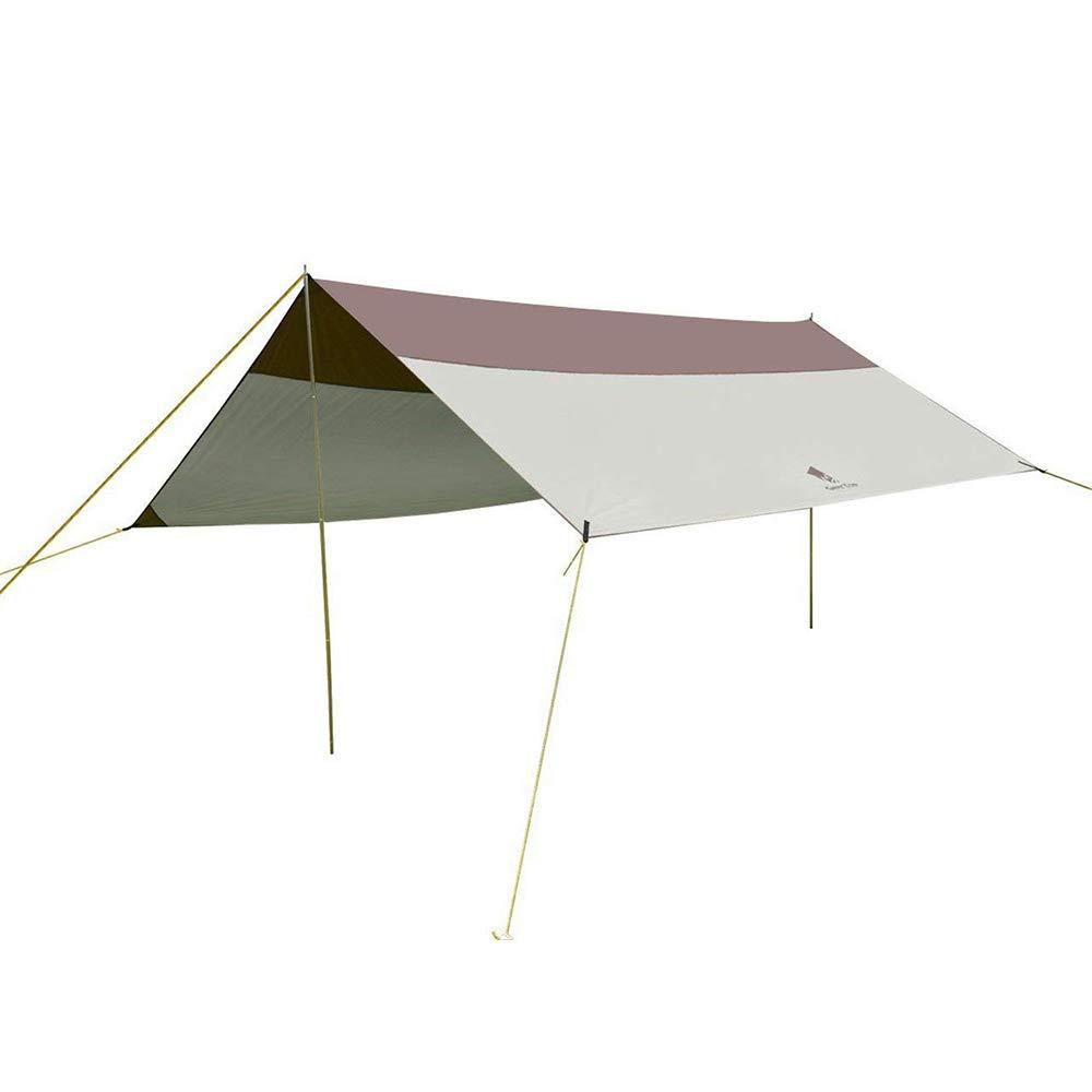 Sun Protection Shelter Large Tarp with 4 Sandbag Anchors GEERTOP Beach Sunshade Wind Resistant Canopy UPF 50