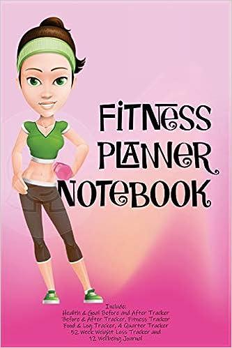 Fitness Planner Notebook: Fitness Agenda, Fitness Planner ...